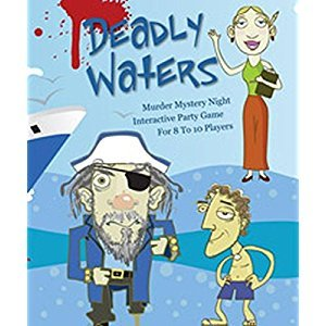 Mystery Party Night Deadly Waters Murder Mystery Game