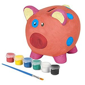 Paint Your Own 14.5cm Ceramic Piggy Bank