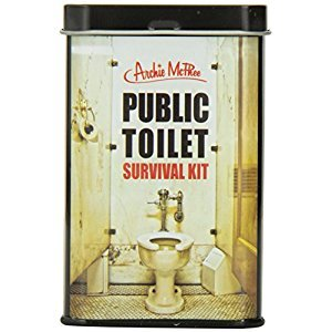 Accoutrements 12179 Accoutrements Public Toilet Survival Kit
