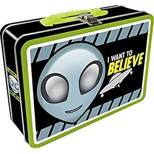 Aquarius 41009 Alien Believe Regular Tin Fun Box