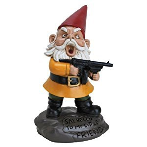 BigMouth Inc. Angry Little Gnome