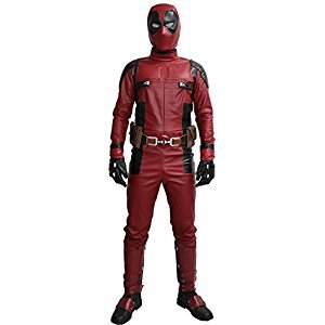 Wade Costume Wilson Updated Cosplay Suit Full Head Mask Belt Custom Made Xcoser L