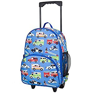 Wildkin Olive Kids Heroes Rolling Luggage