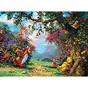 Ceaco Disney Winnie The Pooh Fine Art Pooh's Afternoon Nap Puzzle (1000 Piece)