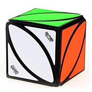 Cuberspeed QiYi Ivy Cube Black Magic cube Mofangge Ivy Leaf Cube Black Puzzle