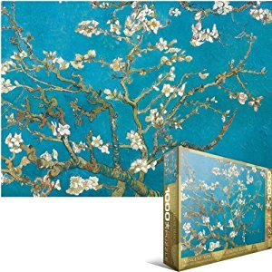 Eurographics Almond Branches by Vincent Van Gogh 1000-Piece Puzzle