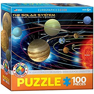 Eurographics Planets 100-Piece Puzzle