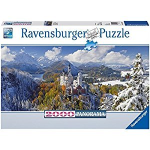 Ravensburger Neuschwanstein Castle - 2000 pc Panorama Puzzle