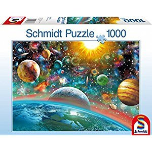 SCHMIDT Outer Space Puzzle, 1000-Piece