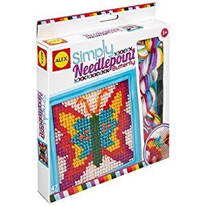 ALEX Toys - Simply Needlepoint Butterfly Kit, 395BN