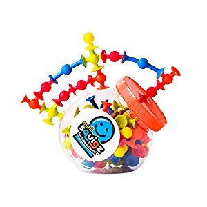 Fat Brain Toys Mini Squigz Building Kit