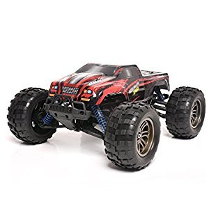 Remote Control Off-Road Vehicle 1:12 Full Scale Mountain Bigfoot Off-Road Competitive High-Speed Car 2.4G RC Car Off-Road Rocker Crawler,Red