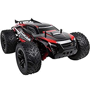 Remote Control SUV 1:10 2.4G RC Car SUV Speed Racing Monster Truck 30Km / H Independent Suspension Radio Control Car Toy (Red)