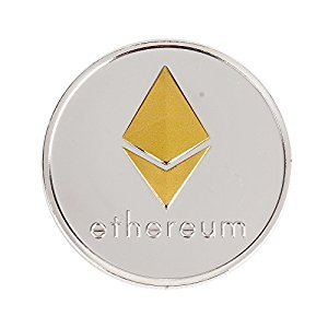 BAQI Gold Silver ETH Ethereum Miner Coin Art Collection