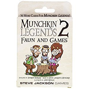 Steve Jackson Games Munchkin Legends 2 Faun and Games Card Game