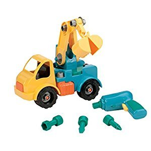 Battat Take Apart Crane Construction Toy Truck