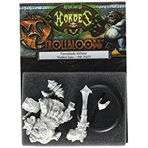 Privateer Press PIP71077 Hordes-Trollblood-Fennblade Kithkar Model Kit