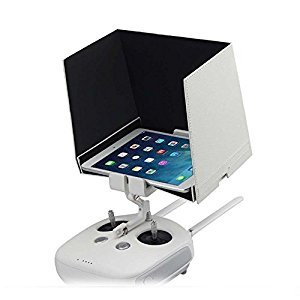 Remote Control Monitor Hood FPV Sunshade Sun visor Cover For DJI Phantom 4/3/2 and Inspire 1 Fits iPad Air or Tablets Size within 9.7