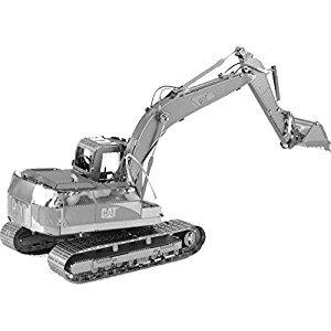 Metal Earth Catapiller Excavator 3D Metal Model Kit