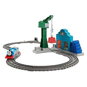 Fisher-Price Thomas & Friends TrackMaster Demolition at the Docks Track Set