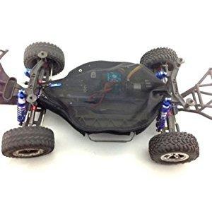 For 1/10 RC CAR Slash 4X4 (non-LCG) Dirt Guard Chassis Cover-1SET Black