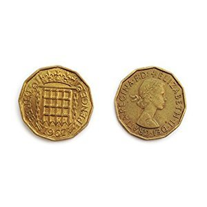 Coins for collectors - Circulated British 1967 Threepenny Bit / Three Pence 3p Coin / Great Britain