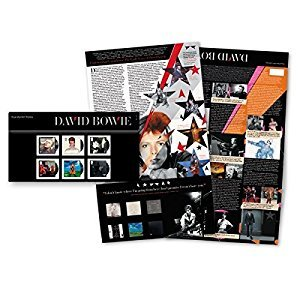 David Bowie Stamps Presentation Pack 2017