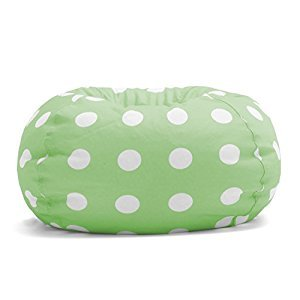 Big Joe Classic Bean Bag Chair, Chartreuse Polka Dot