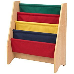 KidKraft 14226 Primary Sling Bookshelf