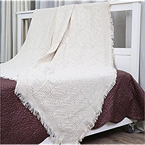 BBJYB Woolen home cotton thickened knitted blanket sofa blanket full sofa sofa towel , 180cm*230cm