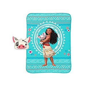 Disney Moana Nogginz and Blanket Set