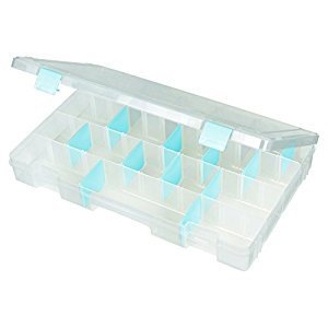 ArtBin 4-Compartment Tarnish Inhibitor Large Box, Translucent Clear