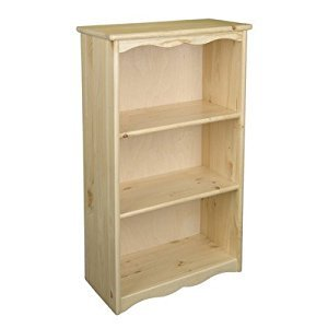 Little Colorado 065NA Traditional Bookcase, Natural
