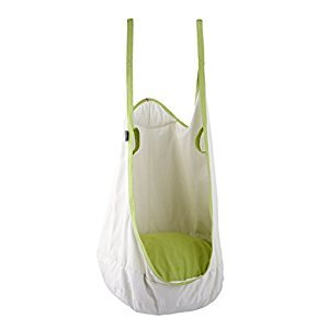 NOSTAFY Funny Frog Hanging Swing Seat Indoor Ceiling Hammock for Children to Adult (White)