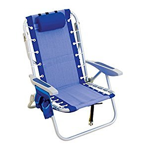 Rio Brands Gear Ultimate Backpack Chair with Cooler, Blue