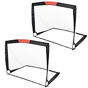 Toyrific TY5866 Goalline Pop-Up Football Goal - Set of 2 by Toyrific