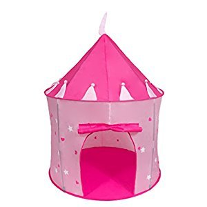 Cinderella USA Girl's Pink Princess Play Castle Pop Up Tent