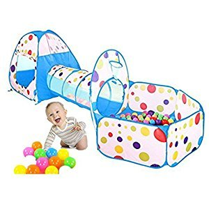 Mochi Baby Kids Ball Pit Ball Tent Pop up Children Baby Toy Toddler Ball Pit for Indoor Outdoor Play, Balls Not Included