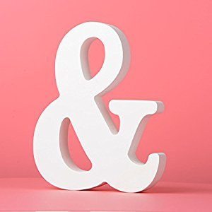 Large Wall Letters Marquee Alphabet Wood Wooden Number Diy Block Words Sign Hanging Decor Letter For Home Bedroom Office Wedding Party Decor White