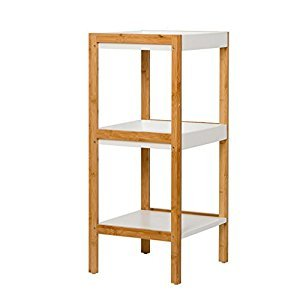Rack Shelves Corner Solid Wood Floor Baffle Storage Shelves Storage Boxes Home Storage Rack ( Size : 33*36*79cm )