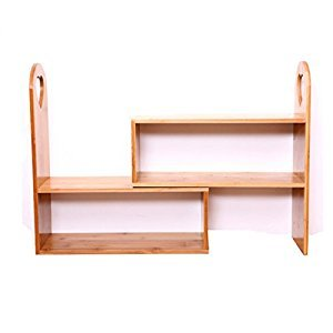 Rack Shelves Desktop Bookcase Seasoning Nanzhu Small Bookshelf Storage Box Home Storage Rack