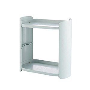 Rack Shelves Kitchen Plastic Small Storage Rack Bathroom Debris Jewelry Combination Shelf Finishing Rack ( Color : C )