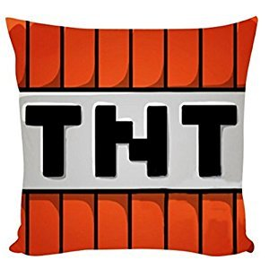 Soft Cartoon Cushion Toy 24h Minecraft Creeper Car Neck Rest Pillow LZT-F (034(35*35cm))