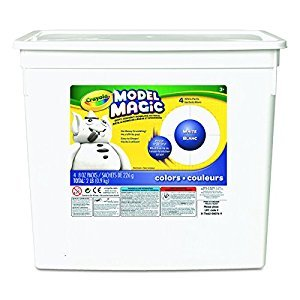 Crayola 904 gm Model Magic Bucket, White
