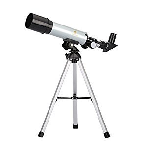 GEERTOP 90X Portable Astronomical Refractor Telescope, 360X50mm, For Kids Sky Star Gazing and Birds Watching