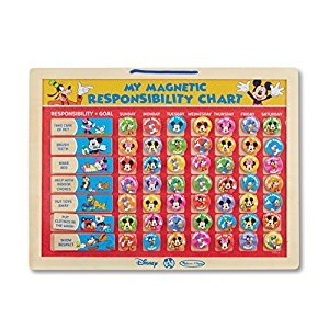 Melissa & Doug Disney Mickey Mouse Clubhouse My Magnetic Responsibility Chart