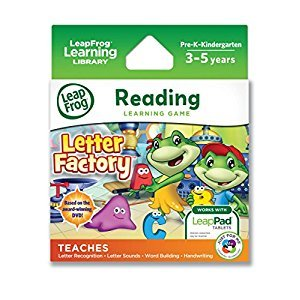 LeapFrog Explorer Learning Game: Letter Factory