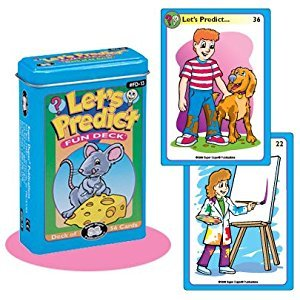 Let's Predict Fun Deck Cards - Super Duper Educational Learning Toy for Kids