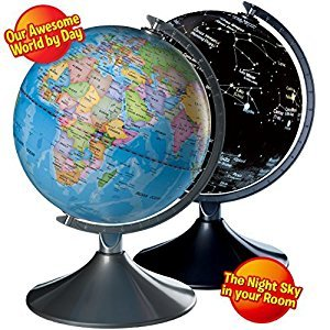 Interactive Kids Globe - Globe for Kids, World Globe for Kids, 2 in 1 Globe Earth and Constellation