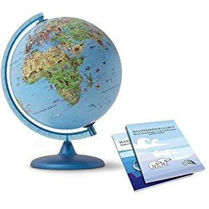 Nova Rico 30cm Symbole Illuminated Children's Globe Supplied with Illustrated information Booklet